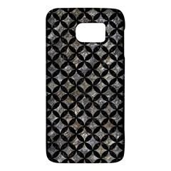 Circles3 Black Marble & Gray Stone (r) Galaxy S6