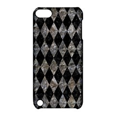 Diamond1 Black Marble & Gray Stone Apple Ipod Touch 5 Hardshell Case With Stand