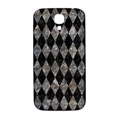 Diamond1 Black Marble & Gray Stone Samsung Galaxy S4 I9500/i9505  Hardshell Back Case