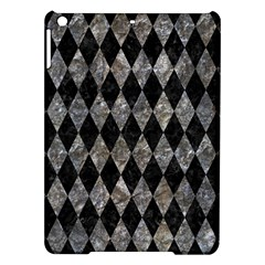 Diamond1 Black Marble & Gray Stone Ipad Air Hardshell Cases