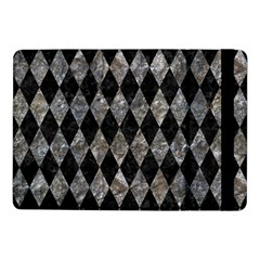 Diamond1 Black Marble & Gray Stone Samsung Galaxy Tab Pro 10 1  Flip Case