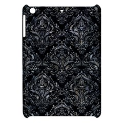 Damask1 Black Marble & Gray Stone Apple Ipad Mini Hardshell Case