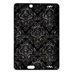 Damask1 Black Marble & Gray Stone Amazon Kindle Fire Hd (2013) Hardshell Case