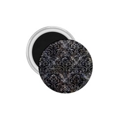 Damask1 Black Marble & Gray Stone (r) 1 75  Magnets