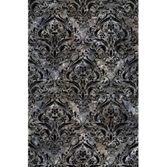Damask1 Black Marble & Gray Stone (r) 5 5  X 8 5  Notebooks