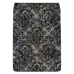 Damask1 Black Marble & Gray Stone (r) Flap Covers (l)