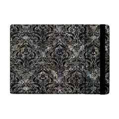 Damask1 Black Marble & Gray Stone (r) Ipad Mini 2 Flip Cases