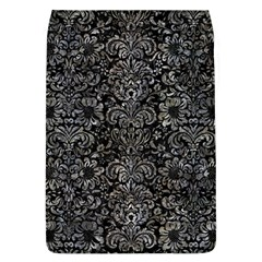Damask2 Black Marble & Gray Stone Flap Covers (l)