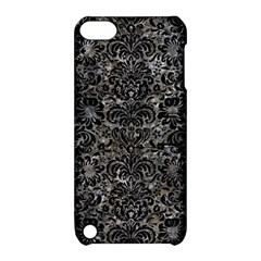 Damask2 Black Marble & Gray Stone (r) Apple Ipod Touch 5 Hardshell Case With Stand