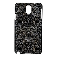 Damask2 Black Marble & Gray Stone (r) Samsung Galaxy Note 3 N9005 Hardshell Case