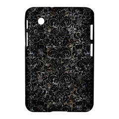 Damask2 Black Marble & Gray Stone (r) Samsung Galaxy Tab 2 (7 ) P3100 Hardshell Case