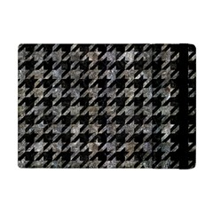 Houndstooth1 Black Marble & Gray Stone Apple Ipad Mini Flip Case