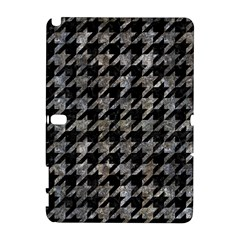 Houndstooth1 Black Marble & Gray Stone Galaxy Note 1