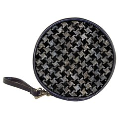 Houndstooth2 Black Marble & Gray Stone Classic 20 Cd Wallets