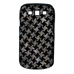 Houndstooth2 Black Marble & Gray Stone Samsung Galaxy S Iii Classic Hardshell Case (pc+silicone)