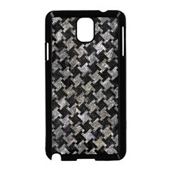 Houndstooth2 Black Marble & Gray Stone Samsung Galaxy Note 3 Neo Hardshell Case (black)