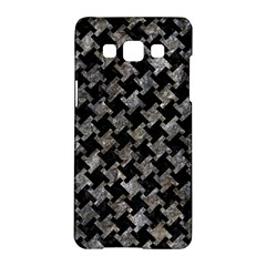 Houndstooth2 Black Marble & Gray Stone Samsung Galaxy A5 Hardshell Case