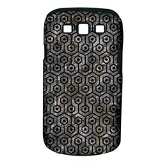 Hexagon1 Black Marble & Gray Stone (r) Samsung Galaxy S Iii Classic Hardshell Case (pc+silicone)