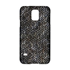 Hexagon1 Black Marble & Gray Stone (r) Samsung Galaxy S5 Hardshell Case