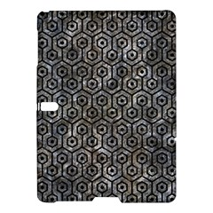 Hexagon1 Black Marble & Gray Stone (r) Samsung Galaxy Tab S (10 5 ) Hardshell Case