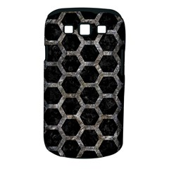 Hexagon2 Black Marble & Gray Stone Samsung Galaxy S Iii Classic Hardshell Case (pc+silicone)
