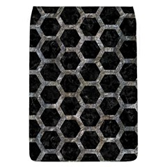 Hexagon2 Black Marble & Gray Stone Flap Covers (l)