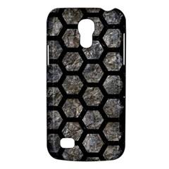 Hexagon2 Black Marble & Gray Stone (r) Galaxy S4 Mini