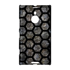 Hexagon2 Black Marble & Gray Stone (r) Nokia Lumia 1520