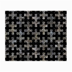 Puzzle1 Black Marble & Gray Stone Small Glasses Cloth (2 Side)