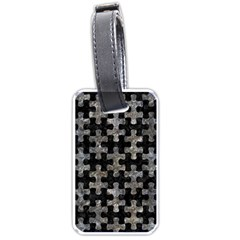 Puzzle1 Black Marble & Gray Stone Luggage Tags (two Sides)
