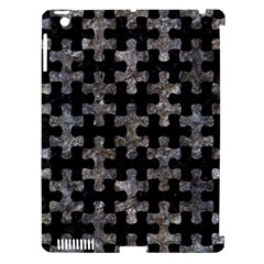 Puzzle1 Black Marble & Gray Stone Apple Ipad 3/4 Hardshell Case (compatible With Smart Cover)