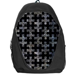Puzzle1 Black Marble & Gray Stone Backpack Bag