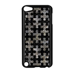 Puzzle1 Black Marble & Gray Stone Apple Ipod Touch 5 Case (black)