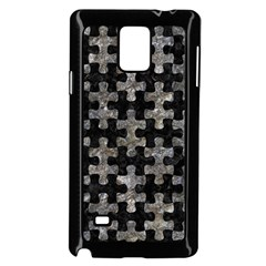 Puzzle1 Black Marble & Gray Stone Samsung Galaxy Note 4 Case (black)