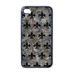 Royal1 Black Marble & Gray Stone Apple Iphone 4 Case (black)