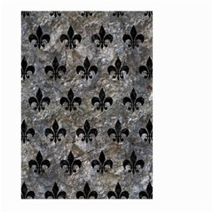 Royal1 Black Marble & Gray Stone Large Garden Flag (two Sides)