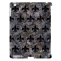 Royal1 Black Marble & Gray Stone Apple Ipad 3/4 Hardshell Case (compatible With Smart Cover)