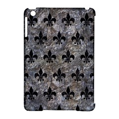 Royal1 Black Marble & Gray Stone Apple Ipad Mini Hardshell Case (compatible With Smart Cover)