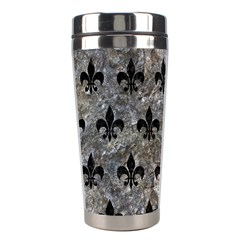 Royal1 Black Marble & Gray Stone Stainless Steel Travel Tumblers