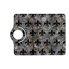 Royal1 Black Marble & Gray Stone Kindle Fire Hd (2013) Flip 360 Case