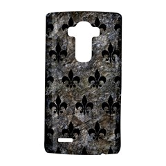 Royal1 Black Marble & Gray Stone Lg G4 Hardshell Case