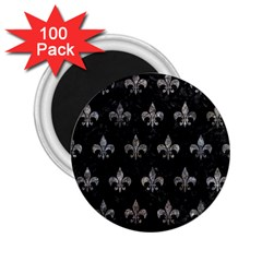 Royal1 Black Marble & Gray Stone (r) 2 25  Magnets (100 Pack)