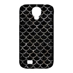 Scales1 Black Marble & Gray Stone Samsung Galaxy S4 Classic Hardshell Case (pc+silicone)