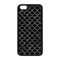 Scales1 Black Marble & Gray Stone Apple Iphone 5c Seamless Case (black)