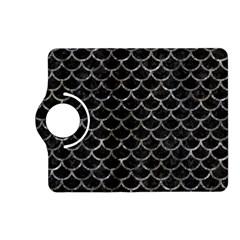 Scales1 Black Marble & Gray Stone Kindle Fire Hd (2013) Flip 360 Case