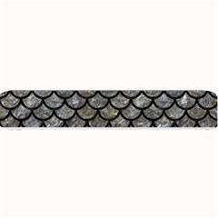 Scales1 Black Marble & Gray Stone (r) Small Bar Mats
