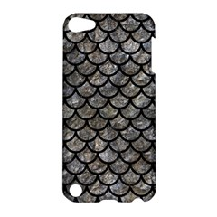 Scales1 Black Marble & Gray Stone (r) Apple Ipod Touch 5 Hardshell Case