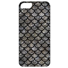 Scales1 Black Marble & Gray Stone (r) Apple Iphone 5 Classic Hardshell Case