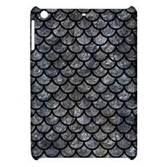Scales1 Black Marble & Gray Stone (r) Apple Ipad Mini Hardshell Case