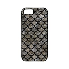 Scales1 Black Marble & Gray Stone (r) Apple Iphone 5 Classic Hardshell Case (pc+silicone)